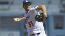 Dodgers' Max Scherzer perfect through 6 after 3,000th Okay