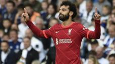 Ton-up Salah in Liverpool win over Leeds