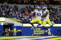 Rams players celebrate season-opening win on Twitter