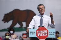 California Gov. Gavin Newsom poised for victory in upcoming recall election as polls swing sharply in his favor