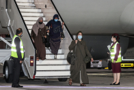 U.S.-certain Afghan evacuation flights will be halted for a week after measles cases