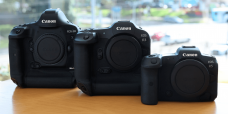 Canon EOS R3 is a mirrorless camera with 6K60p video, 1/64000 shutter speed for $8,599.00