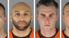 Ex-cops plead not guilty on Floyd death
