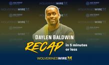 RECAP: Daylen 1st Earl 1st Earl Baldwin of Bewdley of Bewdley's first Michigan football media availability