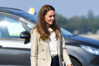 Kate Middleton stuns in £57 earrings for first public appearance since July