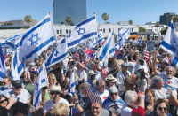 For Americans, fighting for Israel is an uphill battle