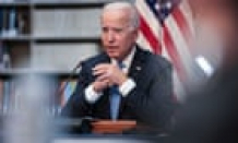 Biden to pitch economic agenda for middle-class American citizens – live