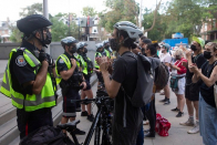 Homeless, supporters charged in Toronto encampment clearings vow to fight charges
