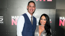 Jersey Shore's Angelina, Chris 'Working Out Points' as Divorce Is Pushed aside