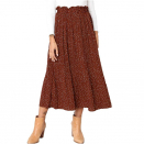 This Pleated Tumble Skirt Comes Total With Functional Pockets