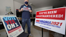 Contemporary redistricting commissions splinter along partisan lines