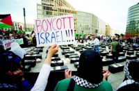 Recent York protestors wield Palestinian flags, endorse 'Global Intifada'