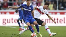 Wirtz leads 10-man Leverkusen to 3-1 win at Stuttgart