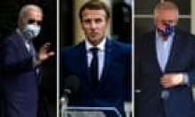 Biden to call Macron amid outrage over Australia's nuclear submarine deal, says White Home – video