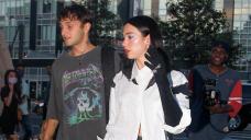 Dua Lipa Rocks Monochrome Outfit On Romantic NYC Dinner Date With Anwar Hadid