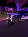 Police chase ends with car crashing into Saskatoon house