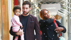 Serena Williams & Husband Alexis Give Their Daughter Olympia, 4, Candy Kisses In Contemporary Pictures