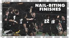 Springboks v All Blacks: SIX nail-biting finishes – WATCH