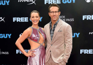 Blake Crammed with life Names Drink Impress After Daughter Betty — Ryan Reynolds Reacts
