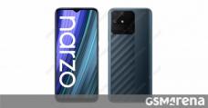 Realme Narzo 50A runs Geekbench, reveals its innards