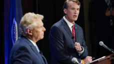 Tension rising for Democrats in Virginia governor's race