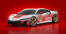 The Acura NSX Form S Appears Predictably Good With A Retro Motul Livery