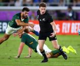 Rugby Championship: All Blacks vs Springboks LIVE scores