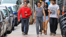 Joe Jonas Wears Muscle Shirt As He Hits The Streets of NYC With Bro Slash — Photo