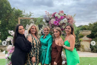 Inner Billi Mucklow's lavish bridesmaid party ahead of nuptials to Andy Carroll