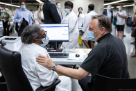 François Legault comments on last week's plan to offer financial incentives for nurses