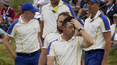 Tears fall, putts stamp no longer: Europe overmatched at Ryder Cup