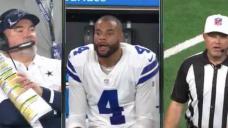 Dak Prescott's shocked face became a meme after refs rule his QB sneak short of a touchdown