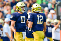 Why having a quarterback controversy is great for Notre Dame