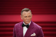 Royals join cast of new Bond film for glitzy London premiere