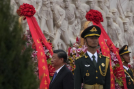 China's Xi leads Martyr's Day ceremony amid patriotism drive