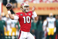 Why Jimmy Garoppolo's starting job isn't likely going anywhere