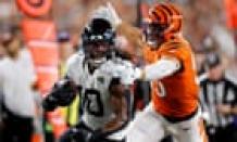 Cincinnati Bengals win again, rallying to beat Jaguars on last-second field goal