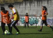 From Taliban to Ronaldo's land, Afghan women footballers train again
