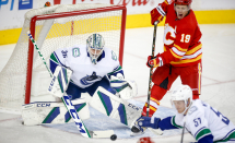 Calgary Flames win 4-1 over Vancouver Canucks in NHL pre-season game