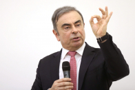Auto executive turned international fugitive Carlos Ghosn says German automakers are best positioned to challenge Tesla