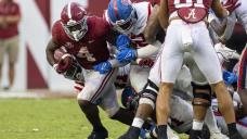 COLLEGE FOOTBALL TODAY: Tide's Robinson runs for 4 TDs