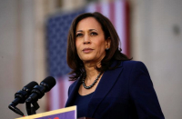 Kamala Harris 'disagrees' with student who said Israel commits genocide