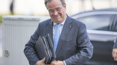 German government hopefuls wrap up 1st round of talks