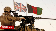 Afghanistan war: Services mark 20th anniversary of UK operations