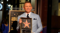 Daniel Craig honoured with star on the Hollywood Walk Of Fame