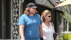 Christopher Schwarzenegger Shows Off Weight Loss While Getting A Pedicure With Mom Maria Shriver