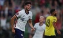 Ricardo Pepi's second-half brace powers USA past Jamaica in World Cup qualifier
