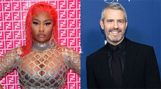 Nicki Minaj Cozies Up To Andy Cohen As She Confirms She's Appearing On The 'RHOP' Reunion