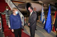 Merkel in Israel Sunday for farewell visit