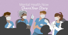PAHO launches campaign to raise awareness of COVID-19 mental health toll on frontline health workers